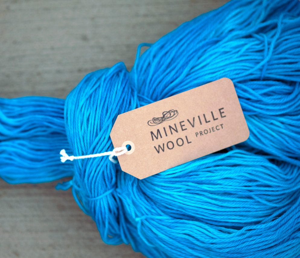 Rarebird Brand Strategy, Mineville Wool Project